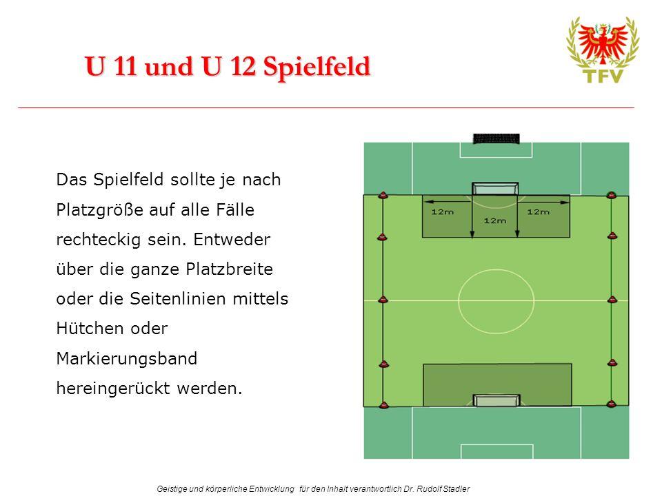 U 11 und U 12 Spielfeld