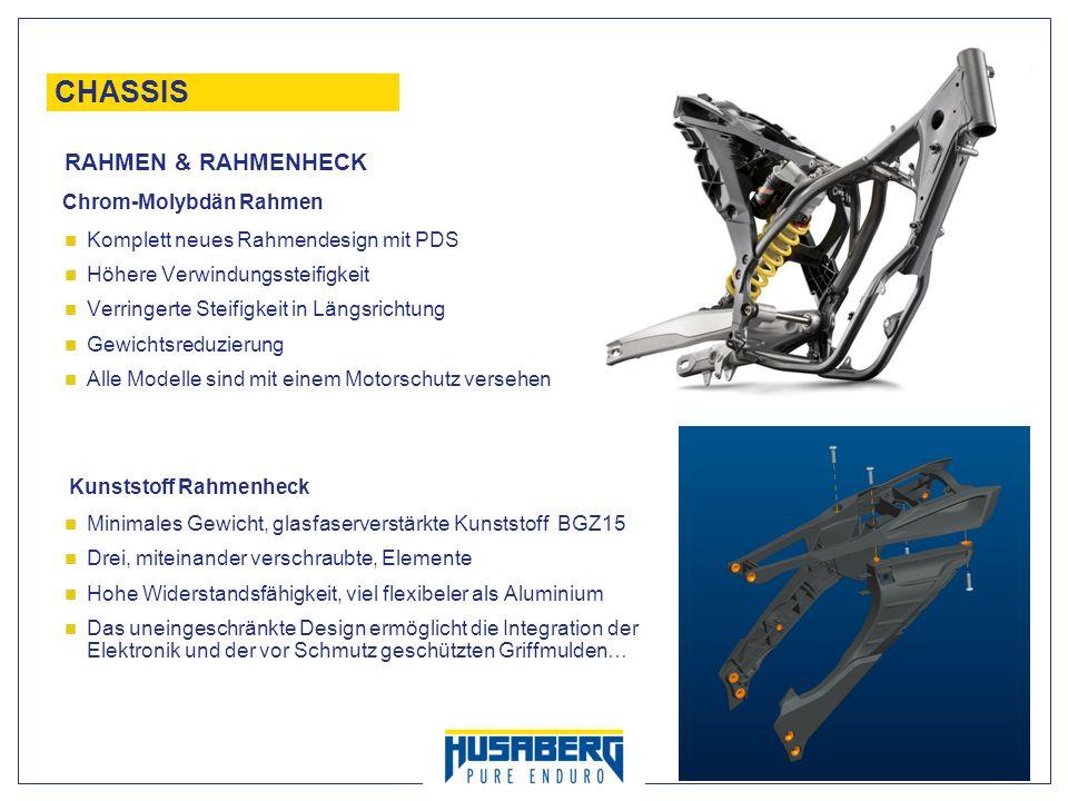 CHASSIS RAHMEN & RAHMENHECK Chrom-Molybdän Rahmen