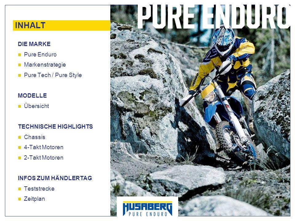 INHALT DIE MARKE Pure Enduro Markenstrategie Pure Tech / Pure Style