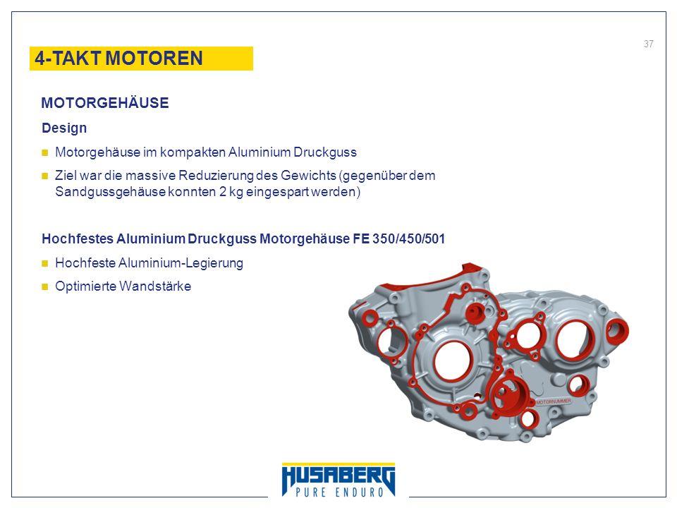 4-TAKT MOTOREN MOTORGEHÄUSE Design