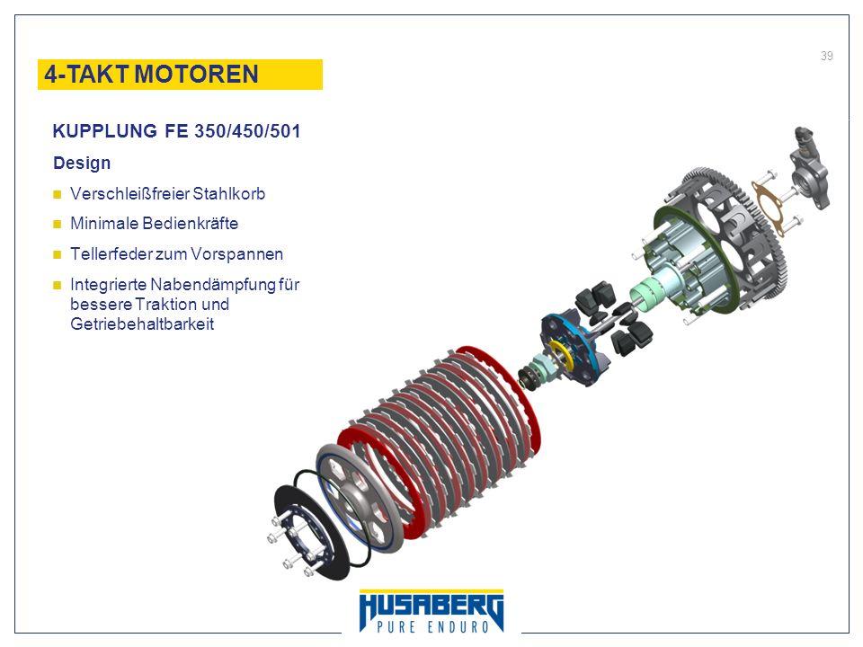 4-TAKT MOTOREN KUPPLUNG FE 350/450/501 Design