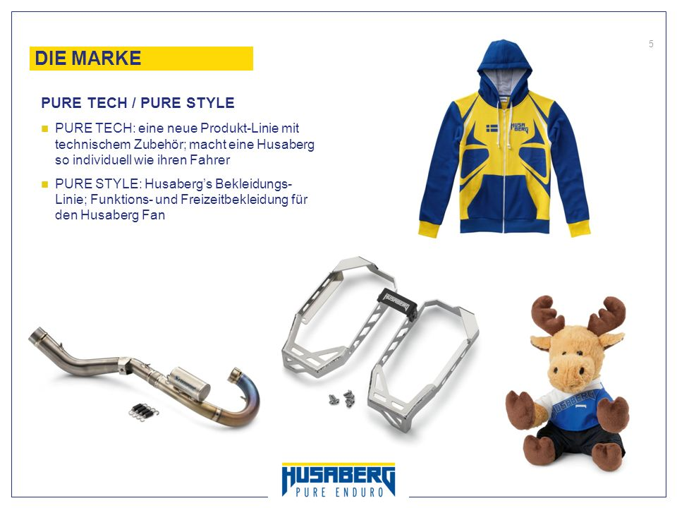 DIE MARKE PURE TECH / PURE STYLE