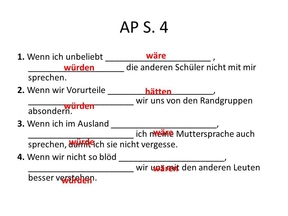 AP S. 4 wäre.