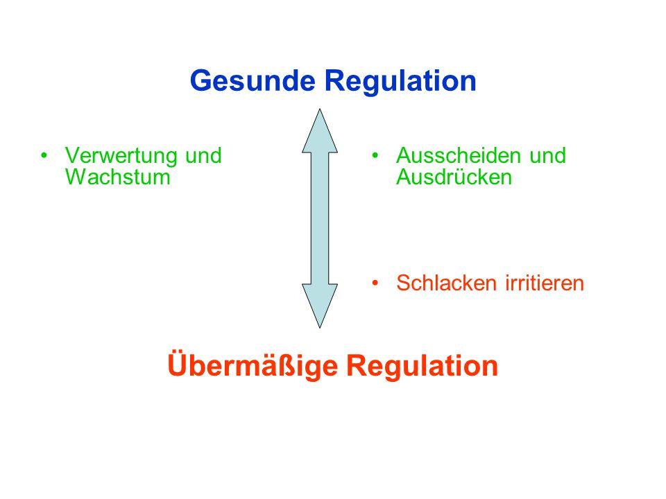 Übermäßige Regulation