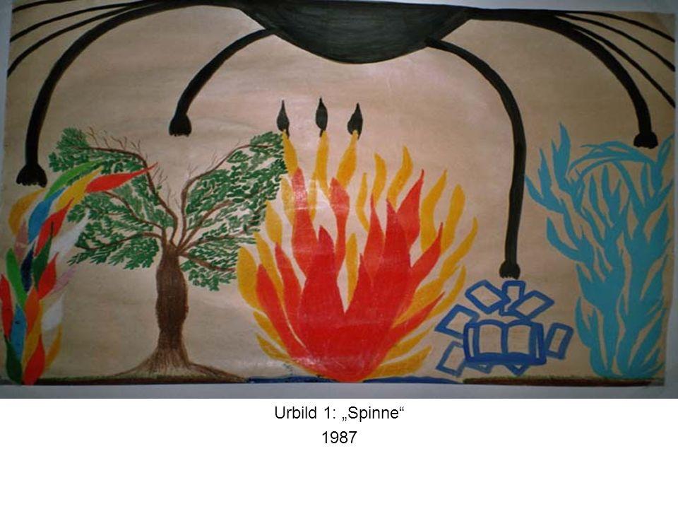 """Urbild 1: """"Spinne 1987"""