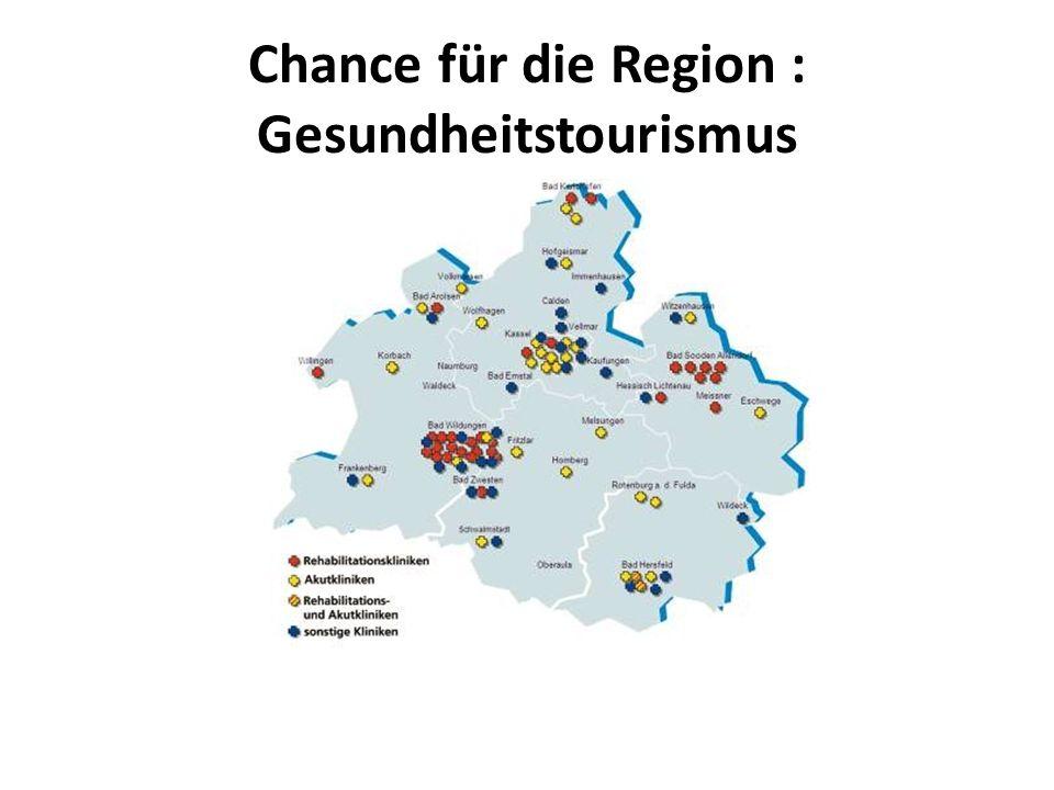 Chance für die Region : Gesundheitstourismus