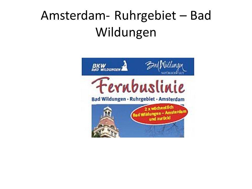 Amsterdam- Ruhrgebiet – Bad Wildungen