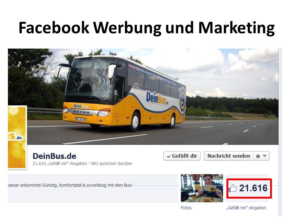 Facebook Werbung und Marketing