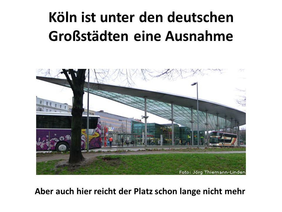 Köln ist unter den deutschen Großstädten eine Ausnahme