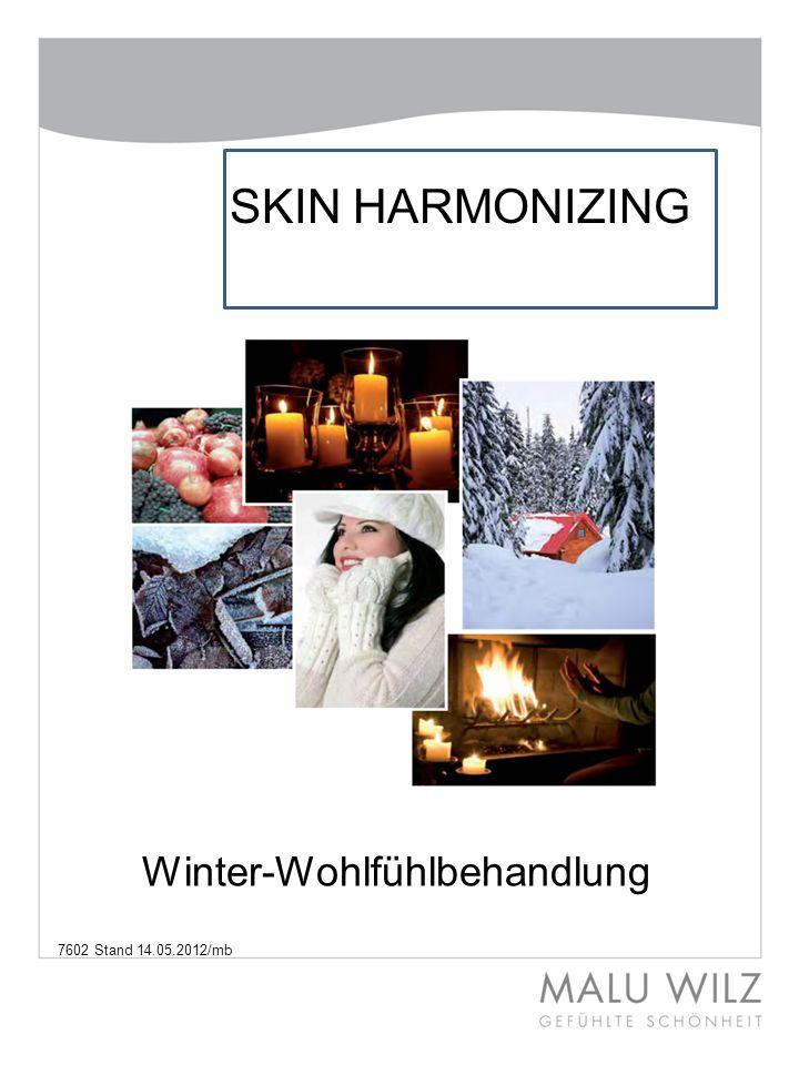 Winter-Wohlfühlbehandlung