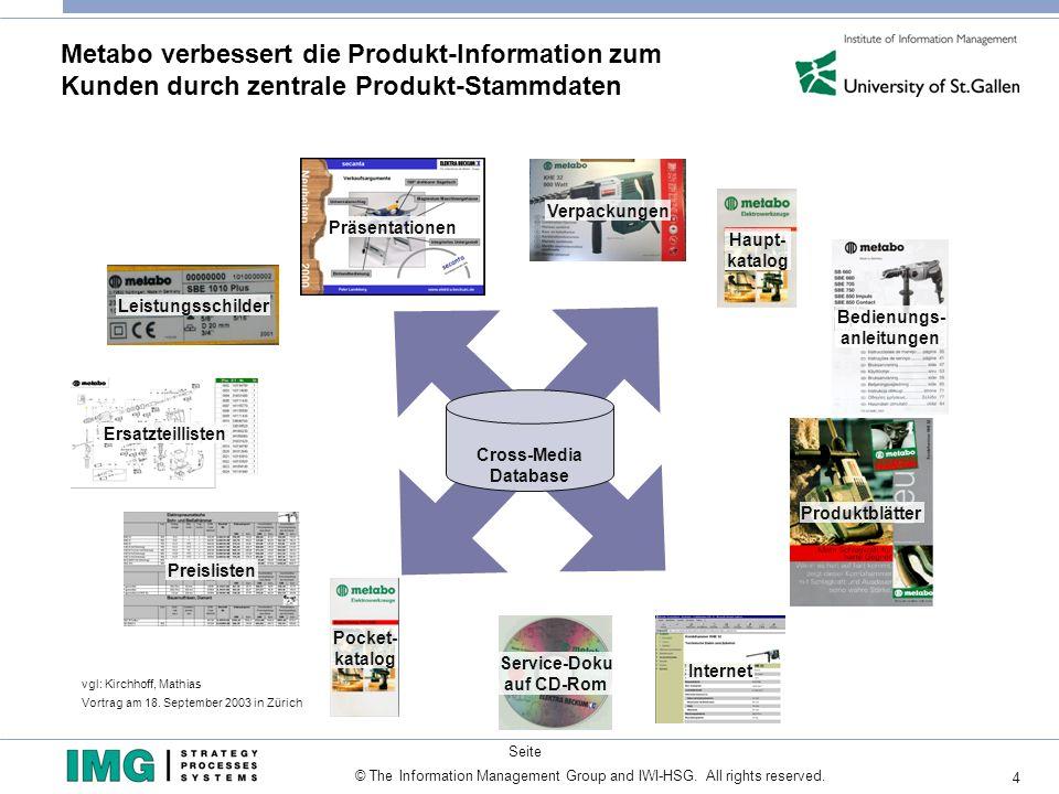 Metabo verbessert die Produkt-Information zum Kunden durch zentrale Produkt-Stammdaten