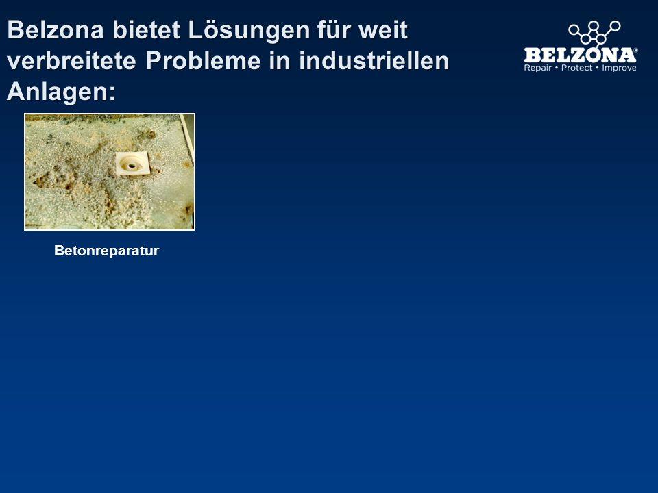 Belzona bietet Lösungen für weit verbreitete Probleme in industriellen Anlagen: