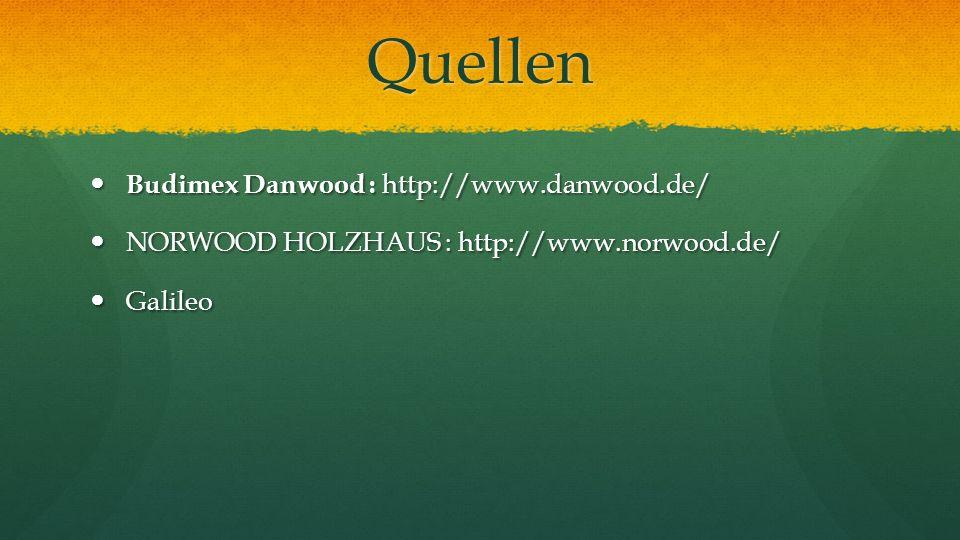 Quellen Budimex Danwood : http://www.danwood.de/