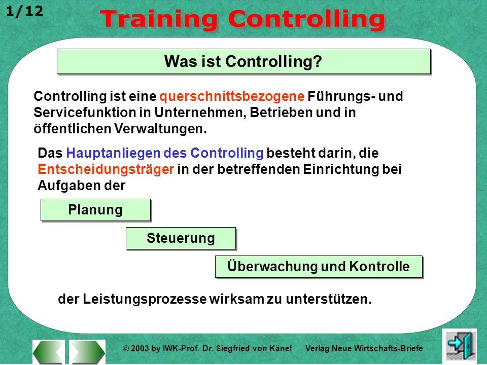 Überwachung und Kontrolle
