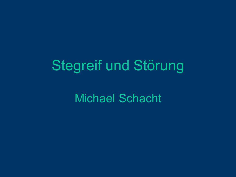Stegreif und Störung Michael Schacht