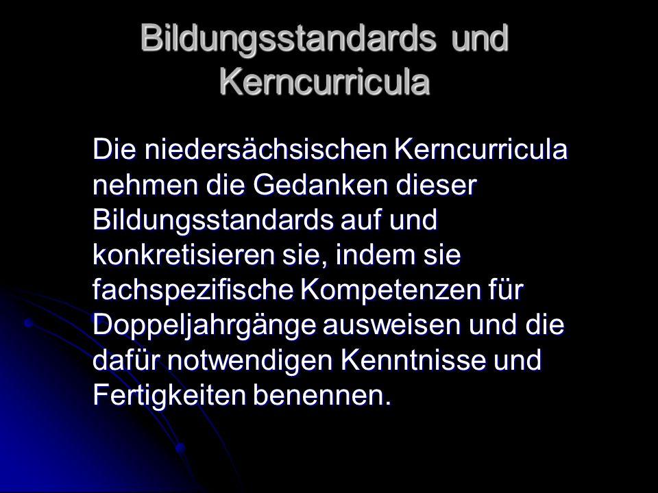 Bildungsstandards und Kerncurricula