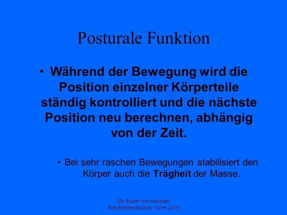 Dr. Rasev Myofasziale Weichteiltechniken - Trier 2000