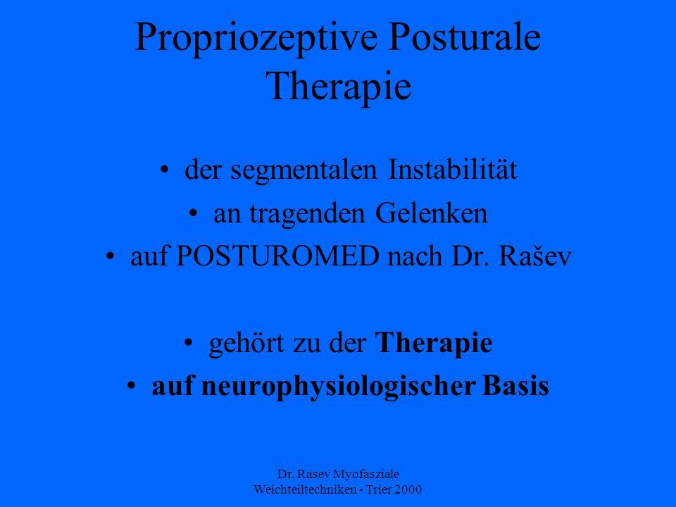 Propriozeptive Posturale Therapie