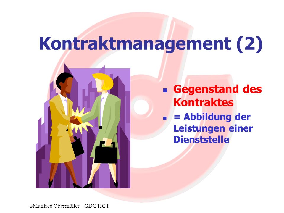 Kontraktmanagement (2)
