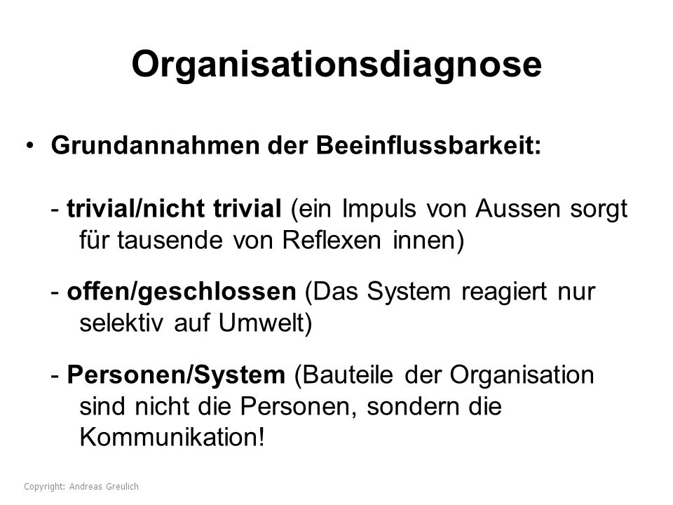Organisationsdiagnose