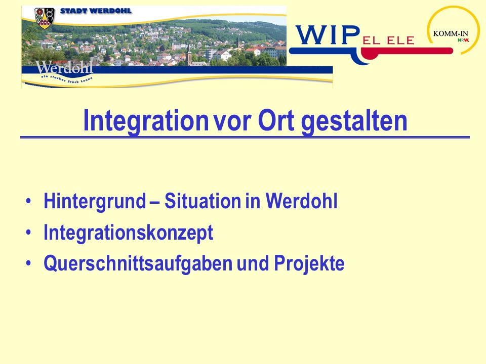 Integration vor Ort gestalten