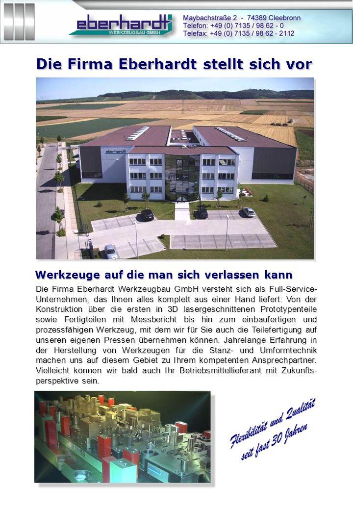 Die Firma Eberhardt stellt sich vor