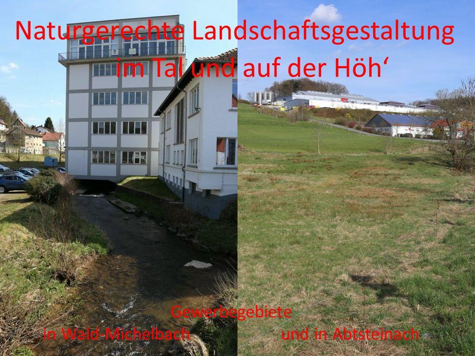 in Wald-Michelbach und in Abtsteinach