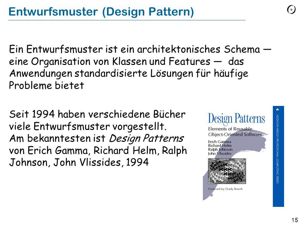 Entwurfsmuster (Design Pattern)
