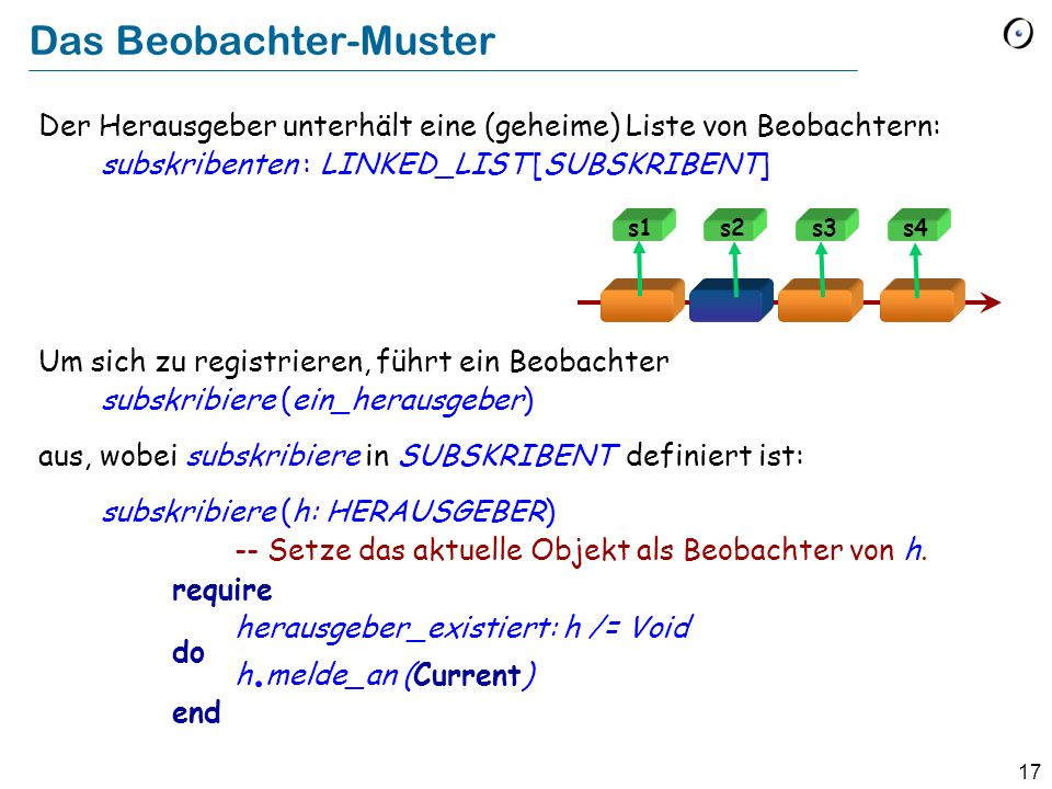Das Beobachter-Muster