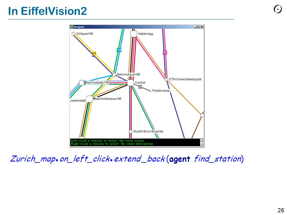 In EiffelVision2 Zurich_map  on_left_click  extend _back (agent find_station)