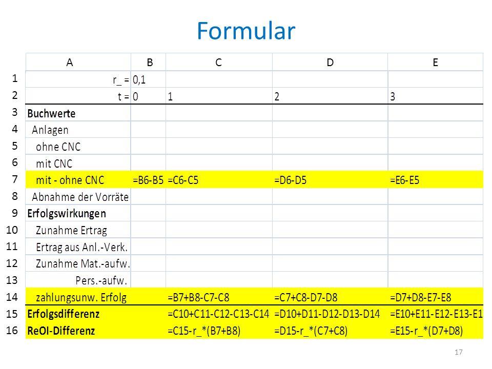 Formular A B C D E.