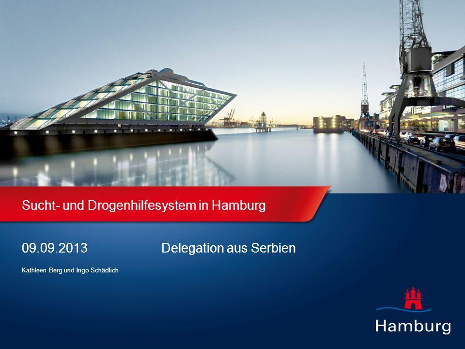 Sucht- und Drogenhilfesystem in Hamburg