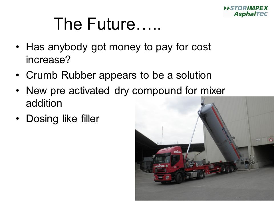 The Future….. Has anybody got money to pay for cost increase