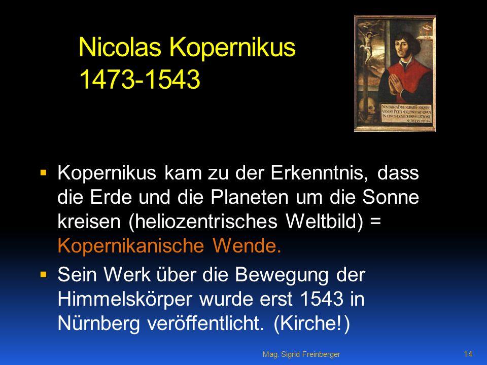 Nicolas Kopernikus 1473-1543