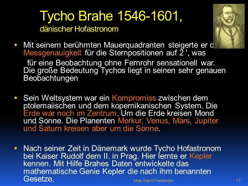 Tycho Brahe 1546-1601, dänischer Hofastronom