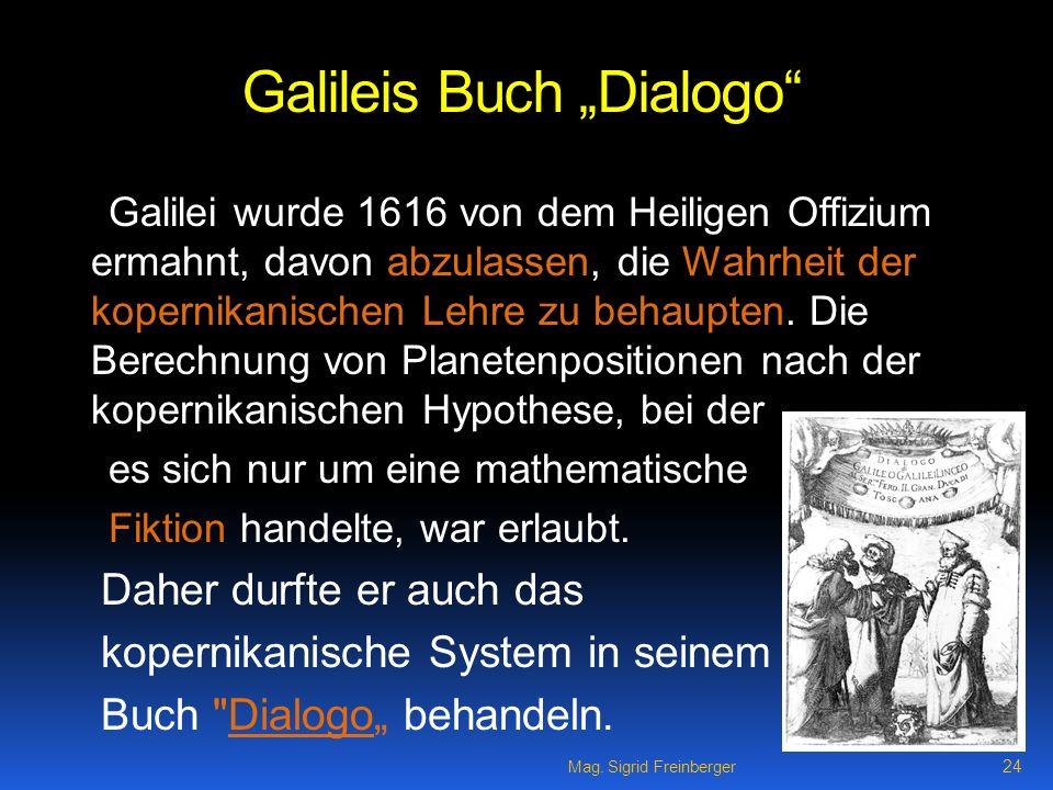 "Galileis Buch ""Dialogo"