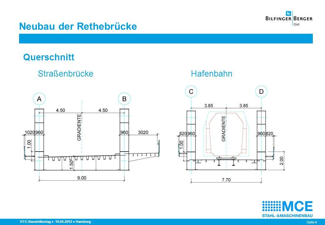 Neubau der Rethebrücke