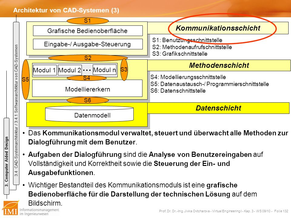Architektur von CAD-Systemen (3)