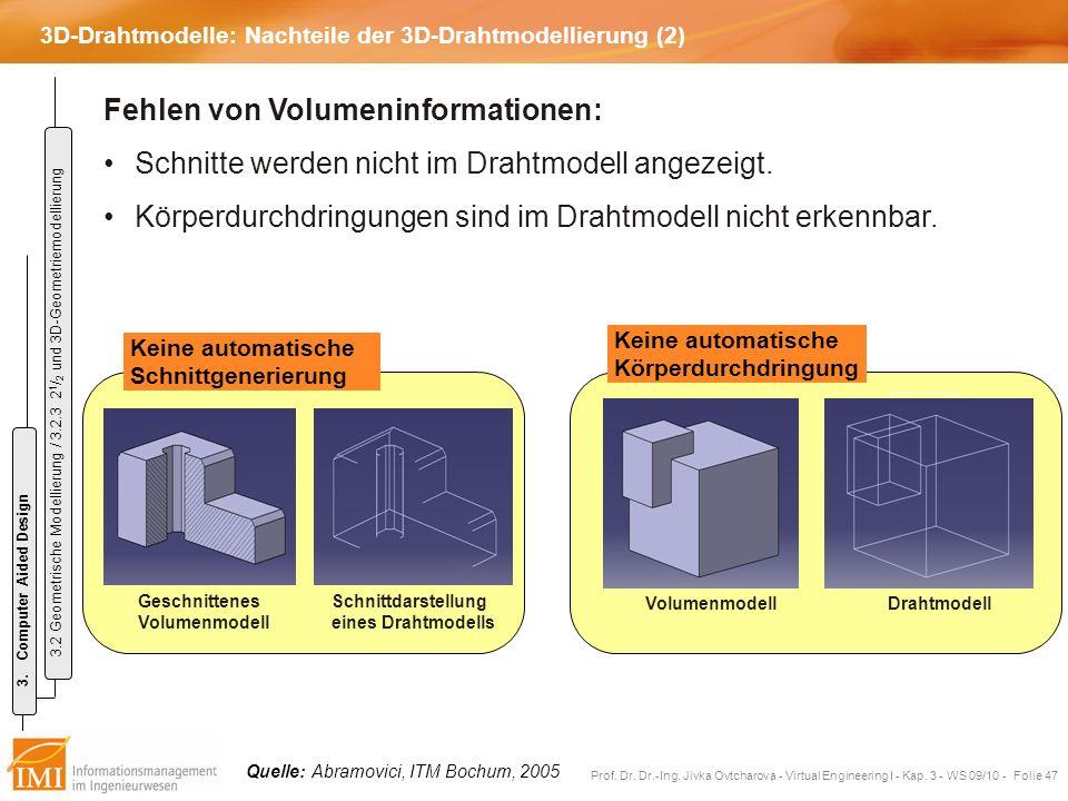 3D-Drahtmodelle: Nachteile der 3D-Drahtmodellierung (2)