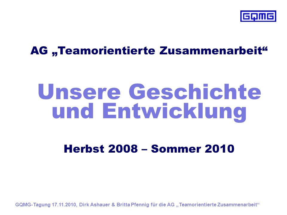 """AG """"Teamorientierte Zusammenarbeit"""