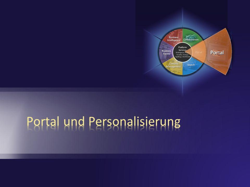 Portal und Personalisierung
