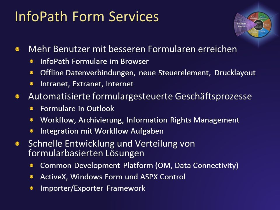 InfoPath Form Services
