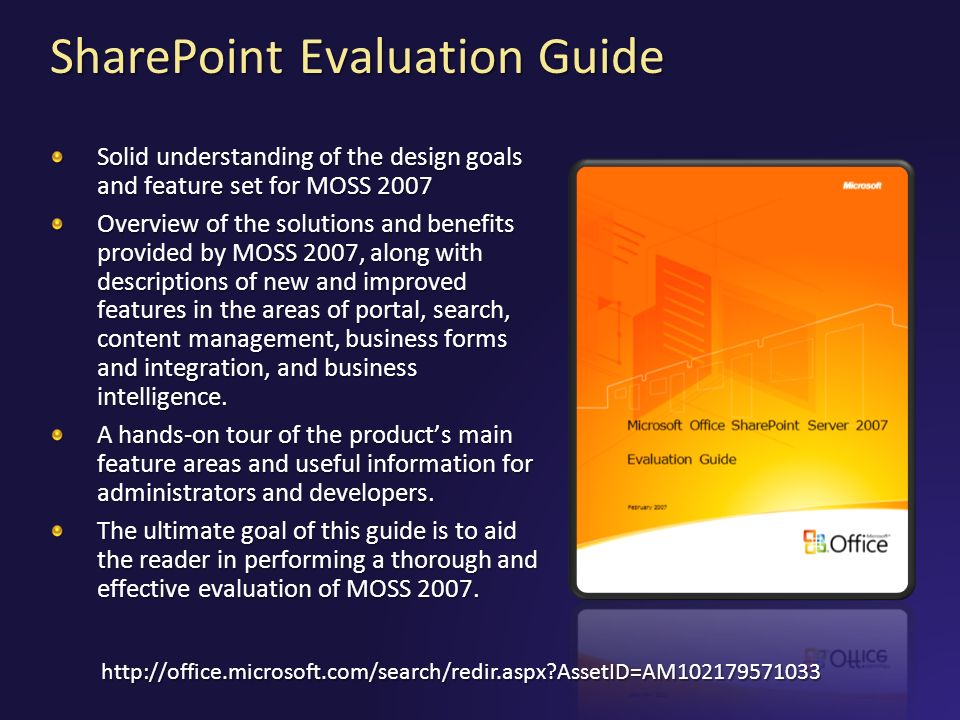 SharePoint Evaluation Guide