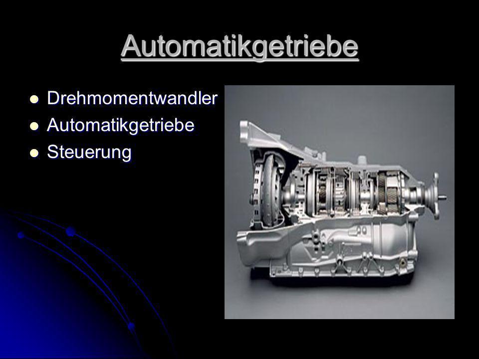 Automatikgetriebe Drehmomentwandler Automatikgetriebe Steuerung
