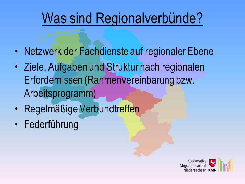 Was sind Regionalverbünde