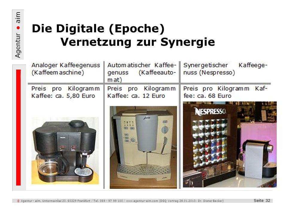 Die Digitale (Epoche) Vernetzung zur Synergie
