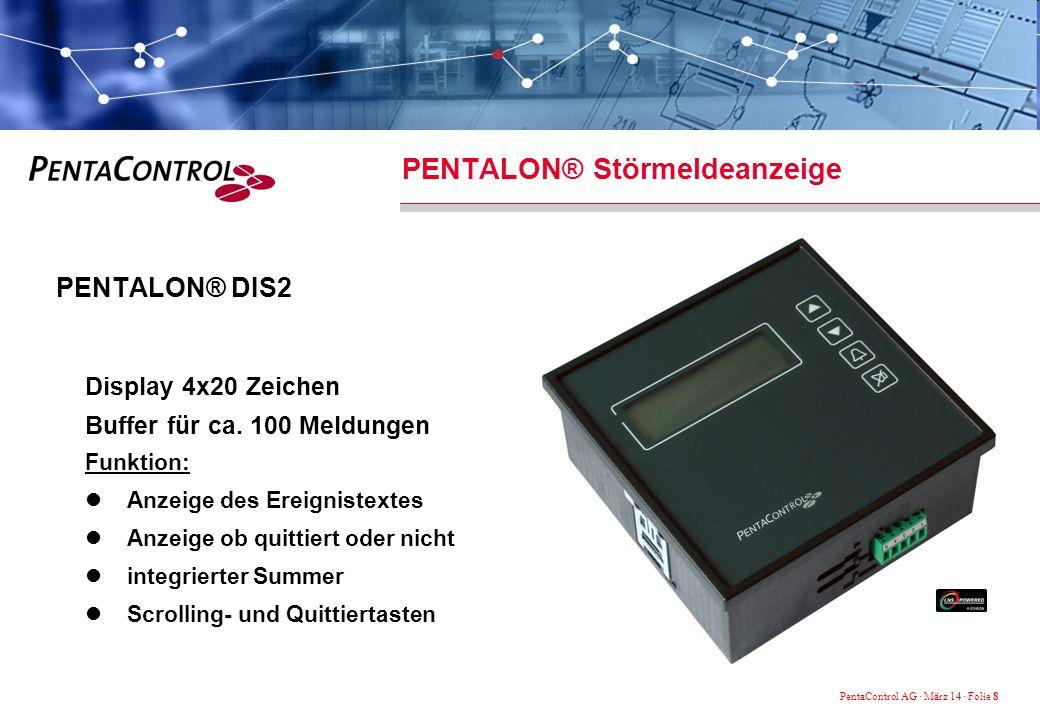 PENTALON® Störmeldeanzeige