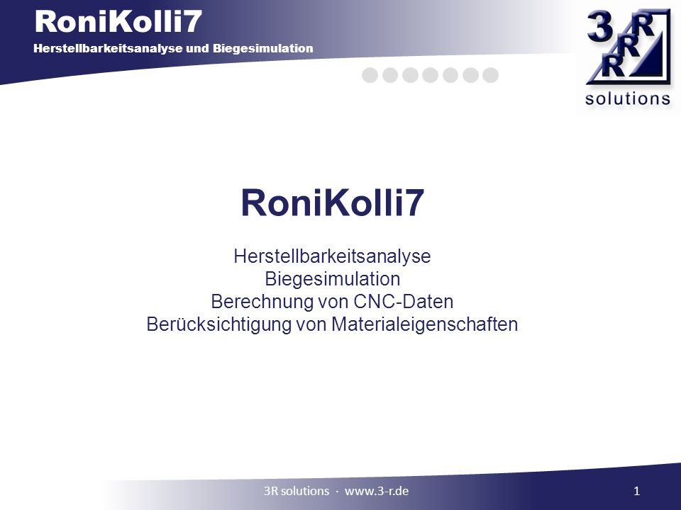 RoniKolli7 Herstellbarkeitsanalyse Biegesimulation