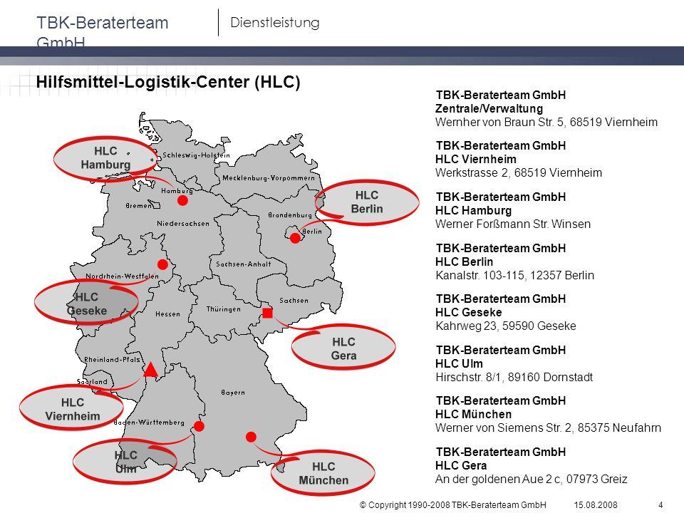 Hilfsmittel-Logistik-Center (HLC)