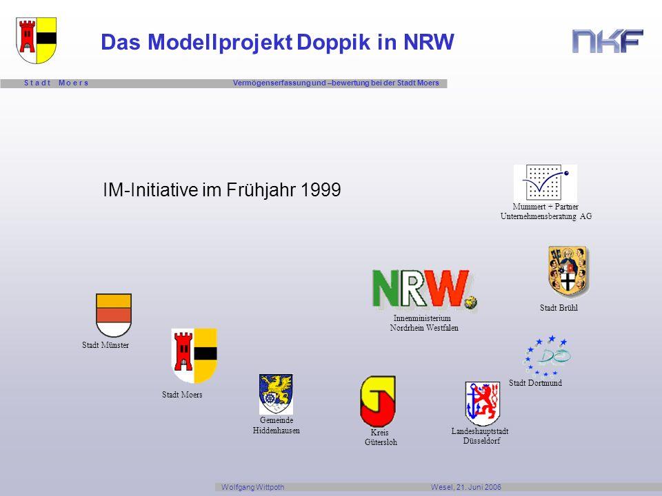 Das Modellprojekt Doppik in NRW